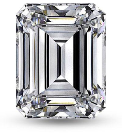 Emerald csiszolású gyémánt