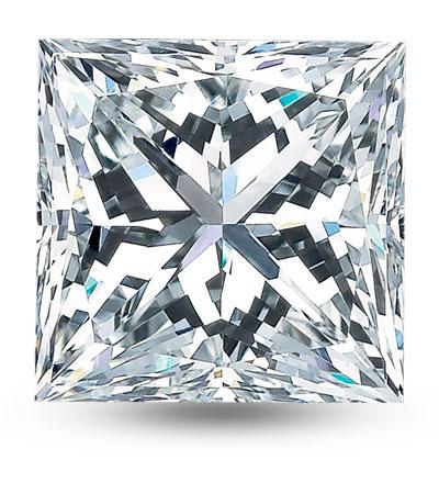 Princess csiszolású gyémánt