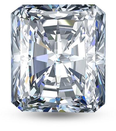 Radiant csiszolású gyémánt