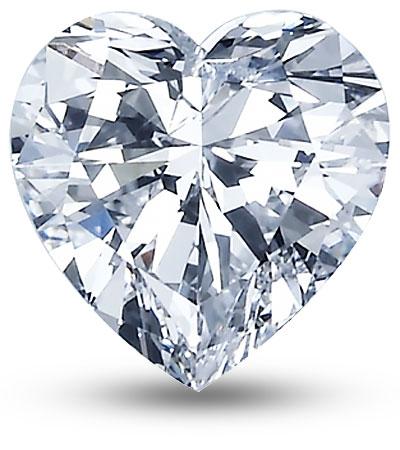 Szív csiszolású gyémánt