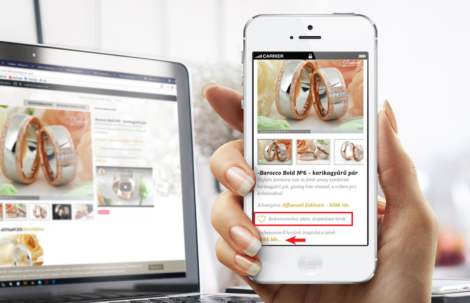 Árajánlat kérés - mobil nézet