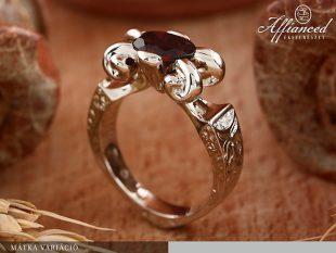 Mátka Variáció - női gyűrű
