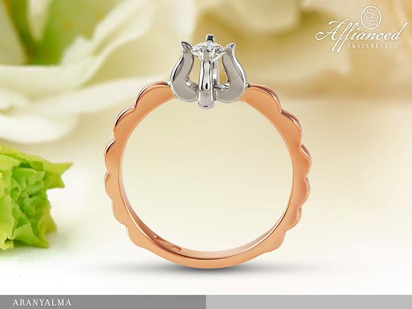 Aranyalma - eljegyzési gyűrű