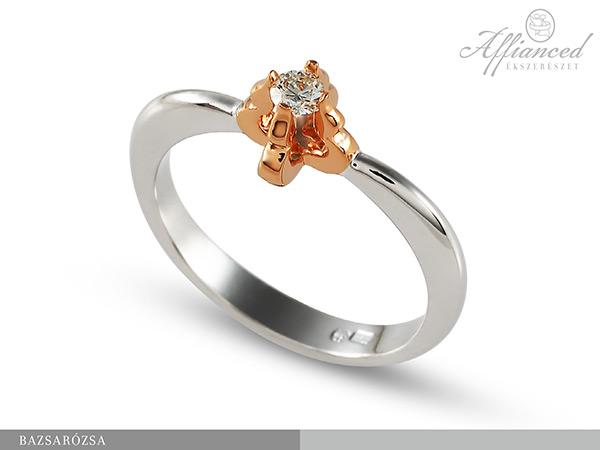 Bazsarózsa - eljegyzési gyűrű