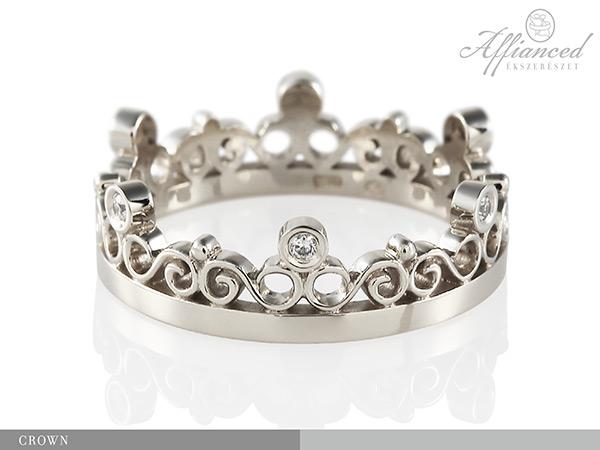 Crown - eljegyzési gyűrű