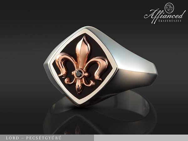 Lord - féri pecsétgyűrű