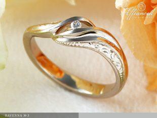 Ravenna no3 - eljegyzési gyűrű
