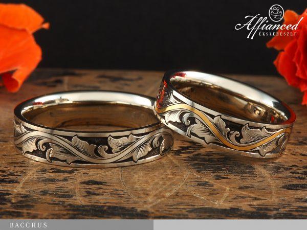 Bacchus - karikagyűrű pár
