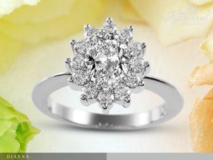 Dianna - eljegyzési gyűrű