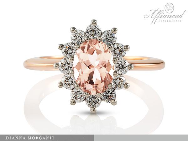 Dianna Morganit - eljegyzési gyűrű