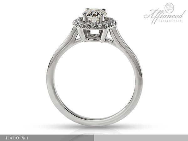 Halo no1 - eljegyzési gyűrű