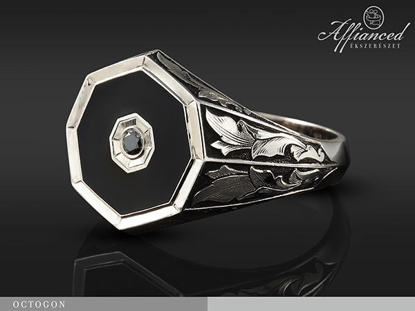 Octogon - pecsétgyűrű