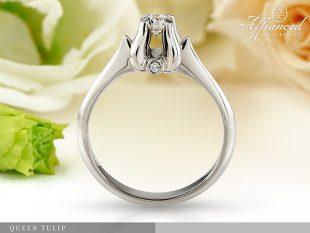 Queen Tulip - eljegyzési gyűrű