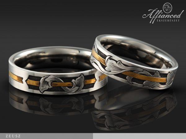 Zeusz - karikagyűrű pár